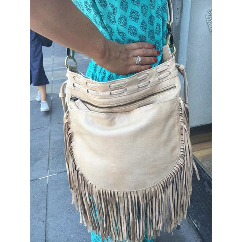 Jfahri nomad tassel bag - neutral