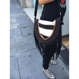 Jfahri Animalia Tassel Bag - zebra-Accessories-jfahristore