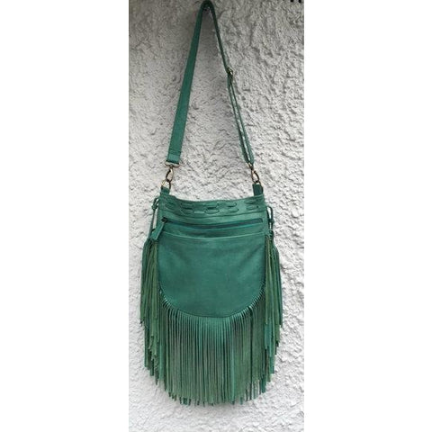 Jfahri nomad tassel bag - jade green-Accessories-jfahristore