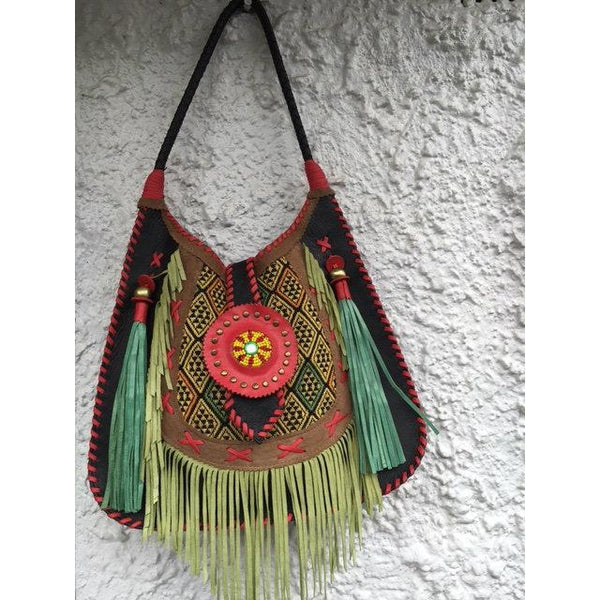 Jfahri Caravana embroidered tote bag