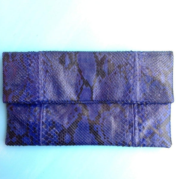 Snake Clutch - Blue-Accessories-jfahristore