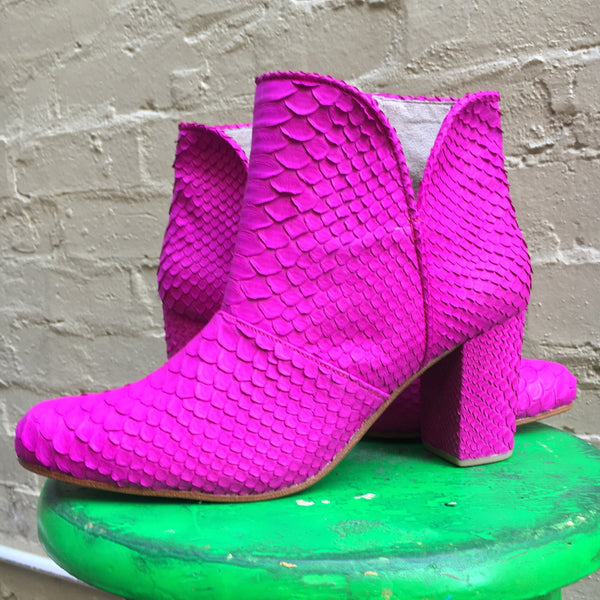 Joey Boot - Neon Pink-Shoes-jfahristore