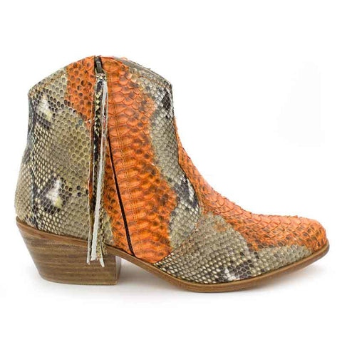Jfahri Boot - Orange/Neutral-Shoes-jfahristore