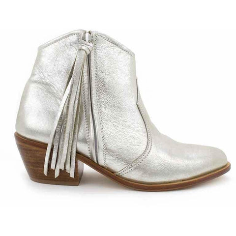 Jfahri Boot - Metallic Silver-Shoes-jfahristore