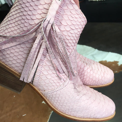 Jfahri Boot - Pastel Pink-Shoes-jfahristore