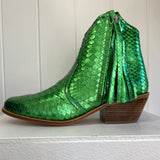 Jfahri boots - Green metallic-Shoes-jfahristore