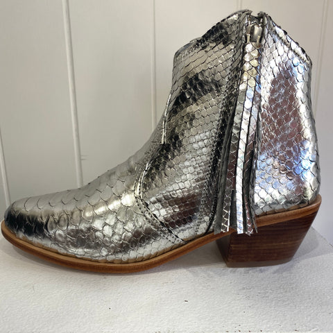 Jfahri boots - Silver Metallic-Shoes-jfahristore