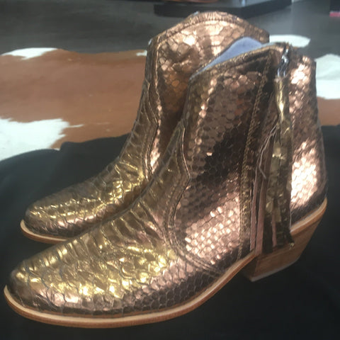 Jfahri Boot - Metallic Bronze-Shoes-jfahristore
