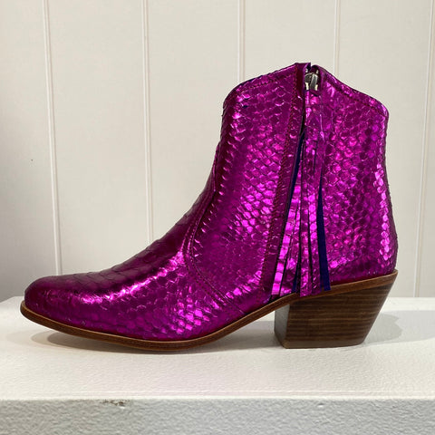Jfahri boot - Neon pink metallic