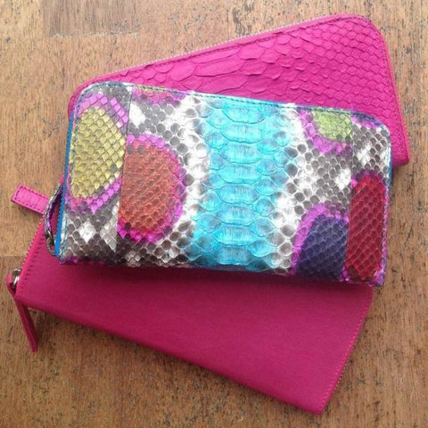 Jfahri Snakeskin Wallet - Multi-Accessories-jfahristore