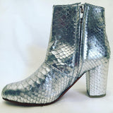 Joey Boot - Metallic Silver-Shoes-jfahristore