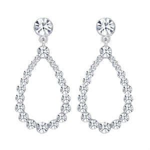Oval Diamante Earrings