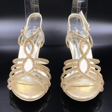 Open Toe Sandal Slipper Party Shoe With Quick Release Strap