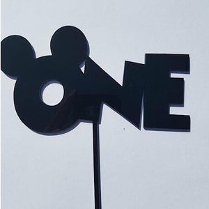One (with Mickey Ears)  Cake Topper