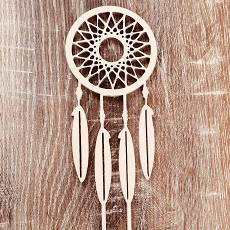 Dreamcatcher Cake Topper