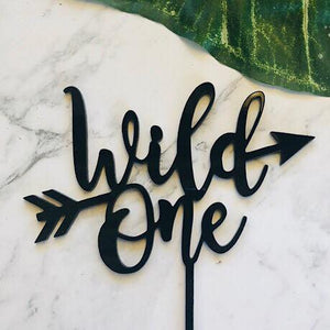 Wild One with arrow Cake Topper
