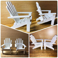 Miniature Beach Chairs (pair)