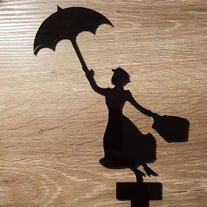 Mary Poppins Cake Topper
