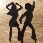 Disco Dancers Cake Topper
