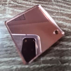 Rose Gold Mirror Acrylic