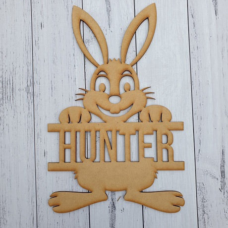Easter Bunny (personalised)