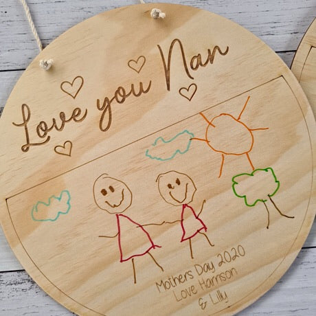 Mothers Day Craft Plaque