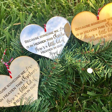 Christmas Heart Decoration