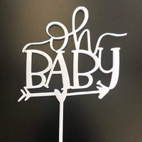 Oh Baby Cake Topper