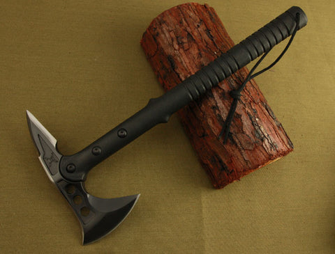 High Quality Tactical Dual-Sided Axe - wildernesssurvivallife