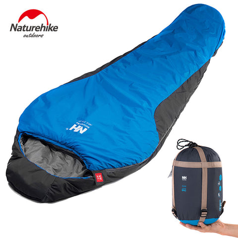 Naturehike Professional Mummy Sleeping Bag. Extra Warm and Lightweight With Carry Bag - wildernesssurvivallife