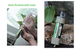 Portable Water Filter for Survival Situations - wildernesssurvivallife