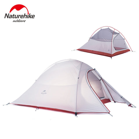 Naturehike 2 Person Performance Tent - Double-Layer Llightweight Camping Tent - wildernesssurvivallife