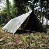 Folding 210 x 130CM Life-Saving Emergency Insulation Blanket/Shelter - wildernesssurvivallife