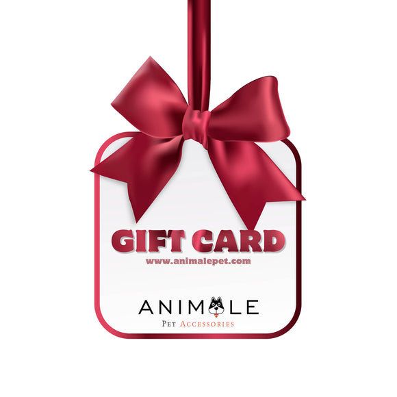 Animale Pet Accessories Gift Card