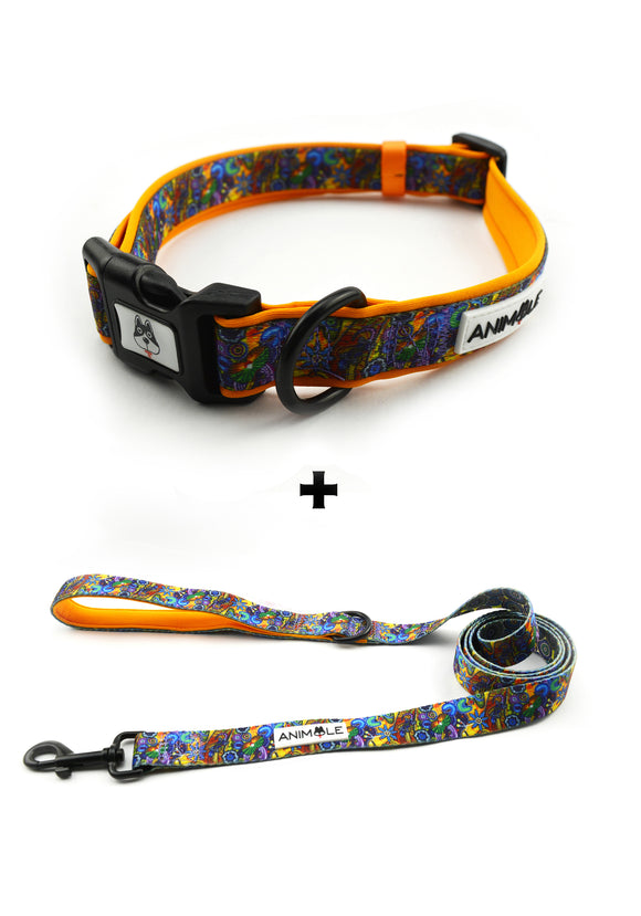 The Walkabout - Collar & Leash (Aboriginal Inspired Products)