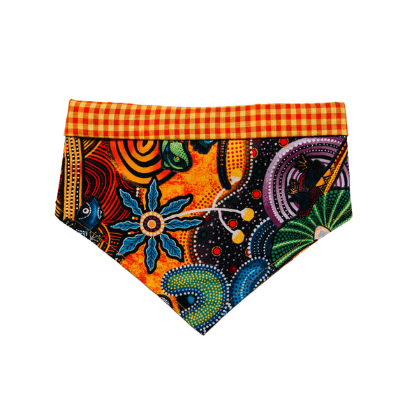 The Walkabout - Handmade Bandana (Aboriginal Inspired Products)
