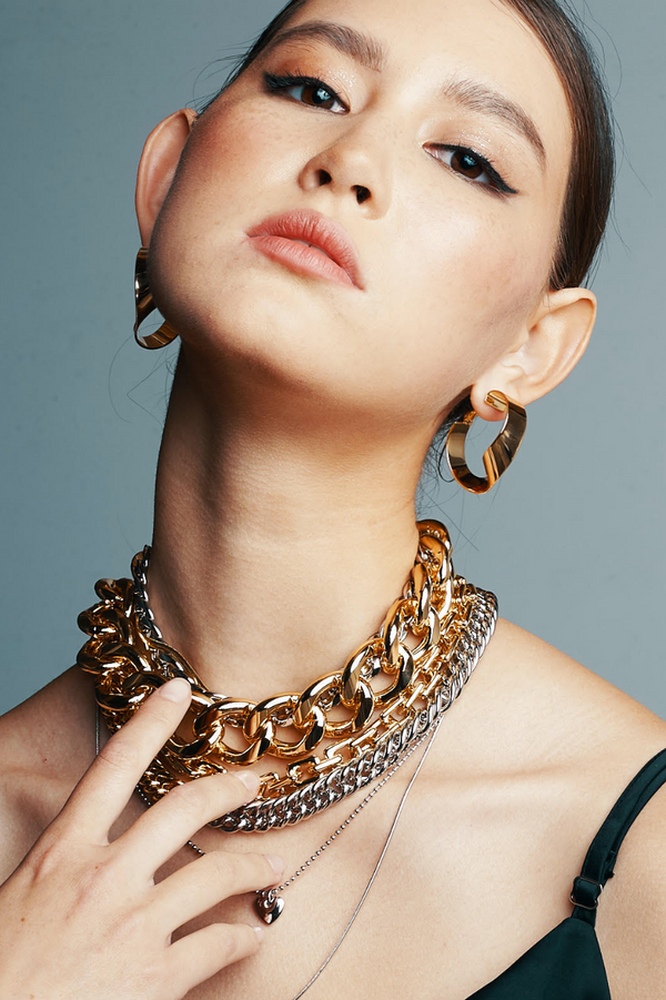 The revival of the chunky chain jewellery trend