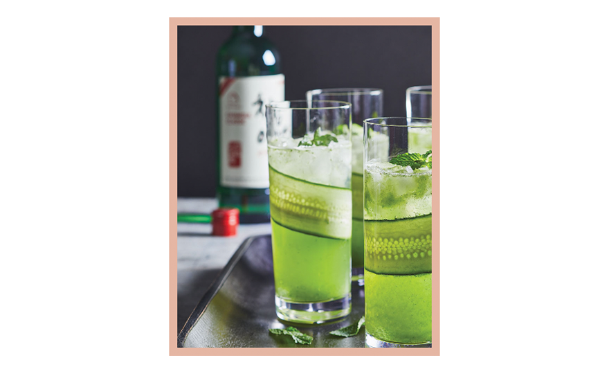 OLIVIA NZ blog image: 7 delicious Soju cocktail recipes (Cucumber Mojito)