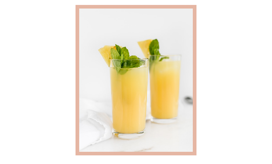 OLIVIA NZ blog image: 7 delicious Soju cocktail recipes (Pineapple Crush)