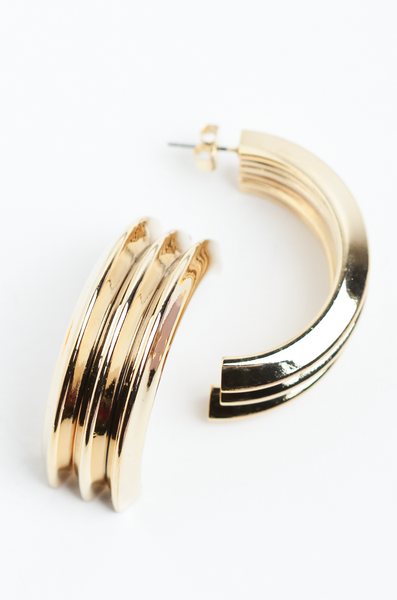 OLIVIA NZ Store online | Makenzie Earrings / Gold