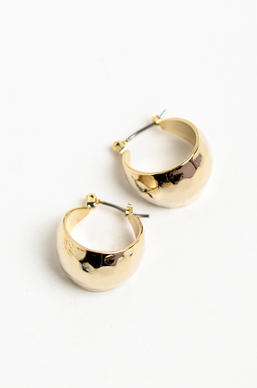 OLIVIA NZ Store online | Phoebe Hoop Earrings / Gold