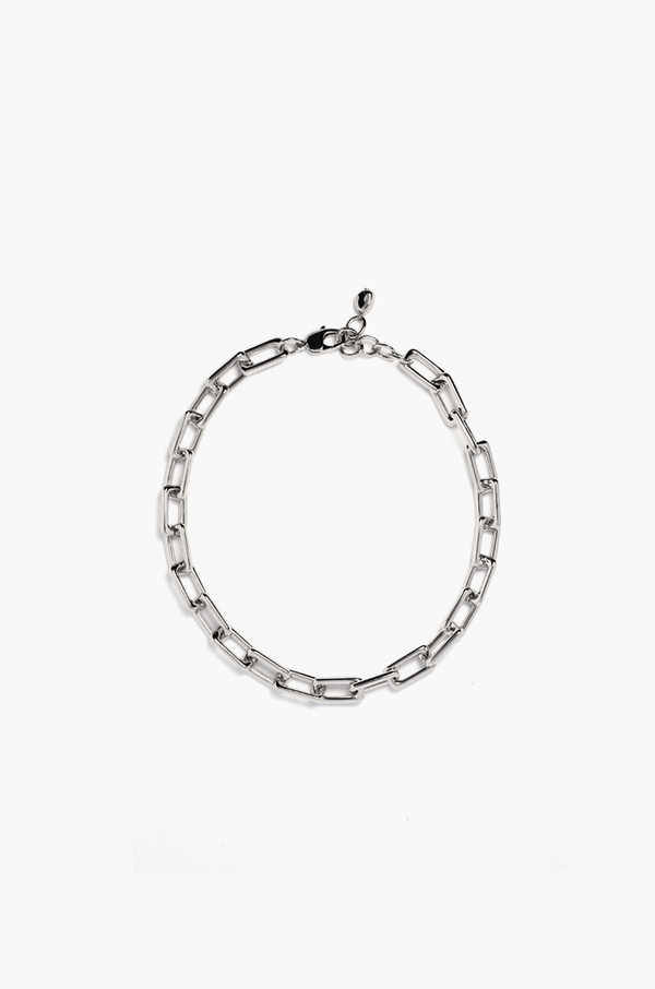 Maya Chain Necklace / Silver