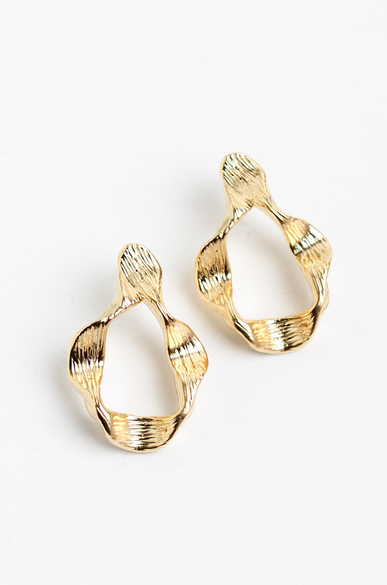 OLIVIA NZ Store online | Adley Earrings / Gold