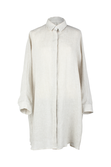 OLIVIA NZ Store online | Leighton Long Shirts / Beige - OLIVIA NZ