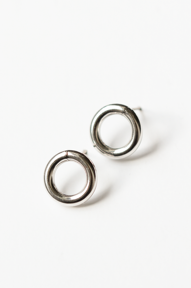 OLIVIA NZ Store online | Margot Stud Earrings / Silver