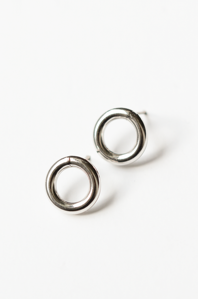 OLIVIA NZ Store online | Margot Stud Earrings / Silver |