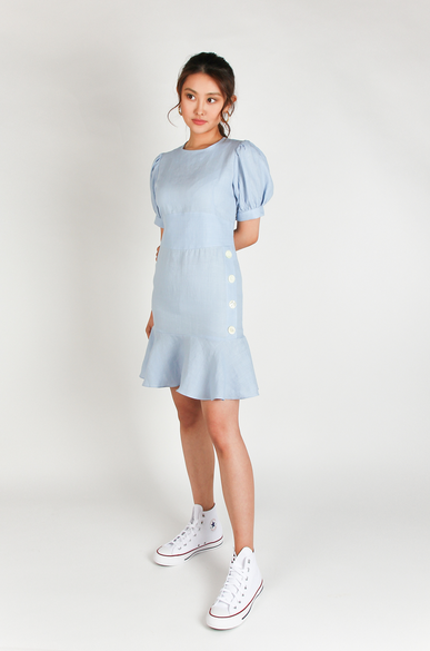OLIVIA NZ Store online | Lolita Linen Dress / Shell