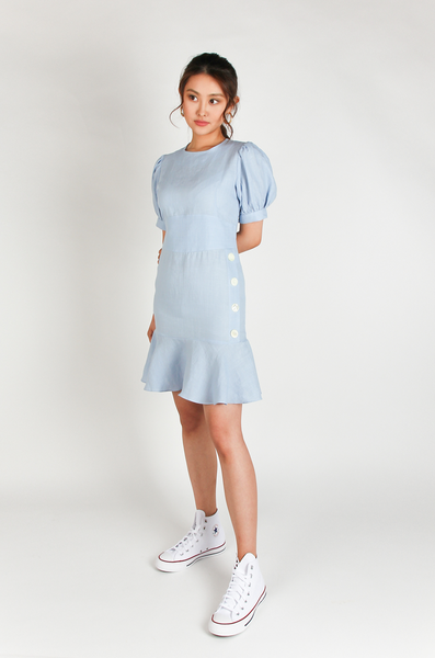 OLIVIA NZ Store online | Lolita Linen Dress / Shell |