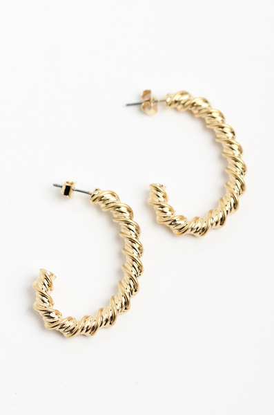 OLIVIA NZ Store online | Ophelia Earrings / Gold |