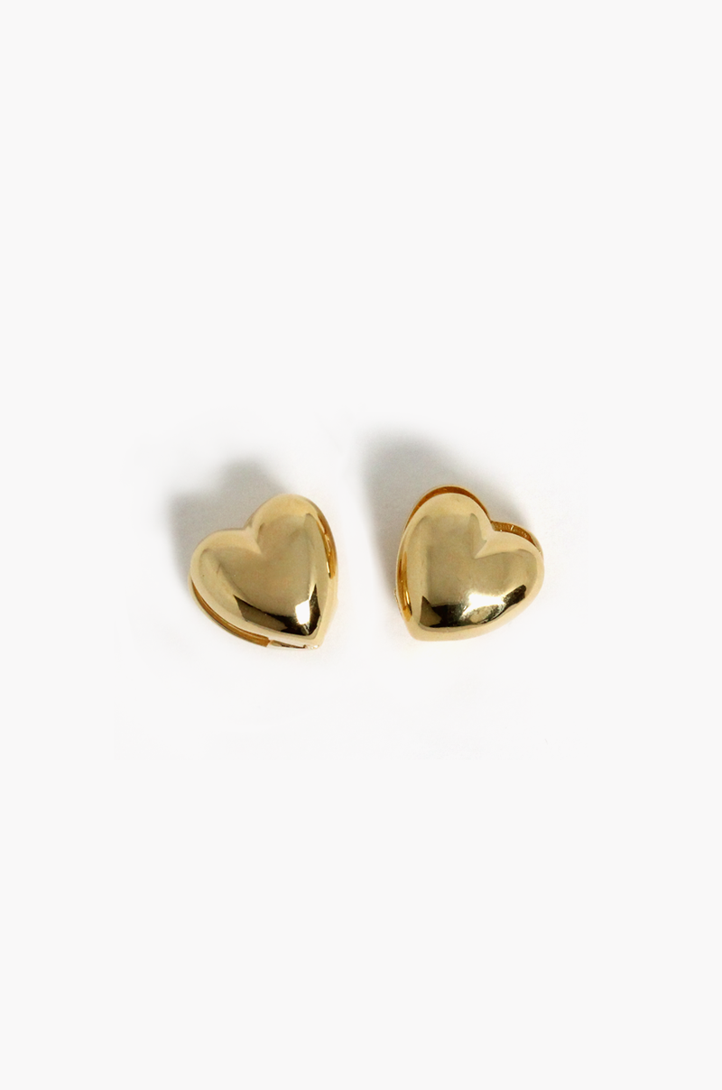 Love Love Earrings / Gold